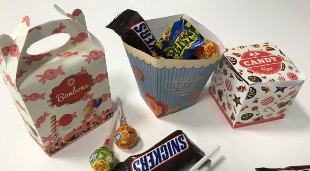 DIY - 3 boîtes de bonbons à imprimer - Blog La Foir'Fouille