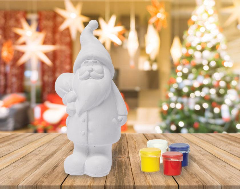 Réaliser un Père Noël personnalisé - DIY - Blog La Foir'Fouille