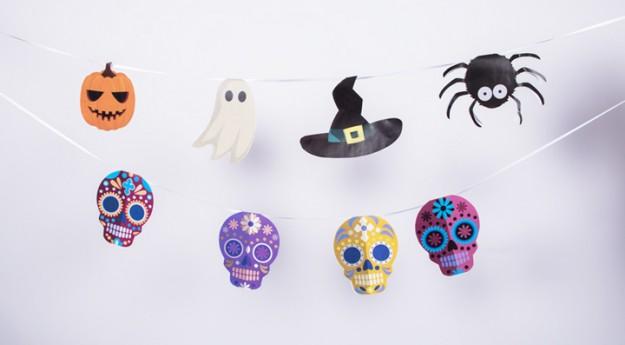 DIY: Ma guirlande d'Halloween à imprimer