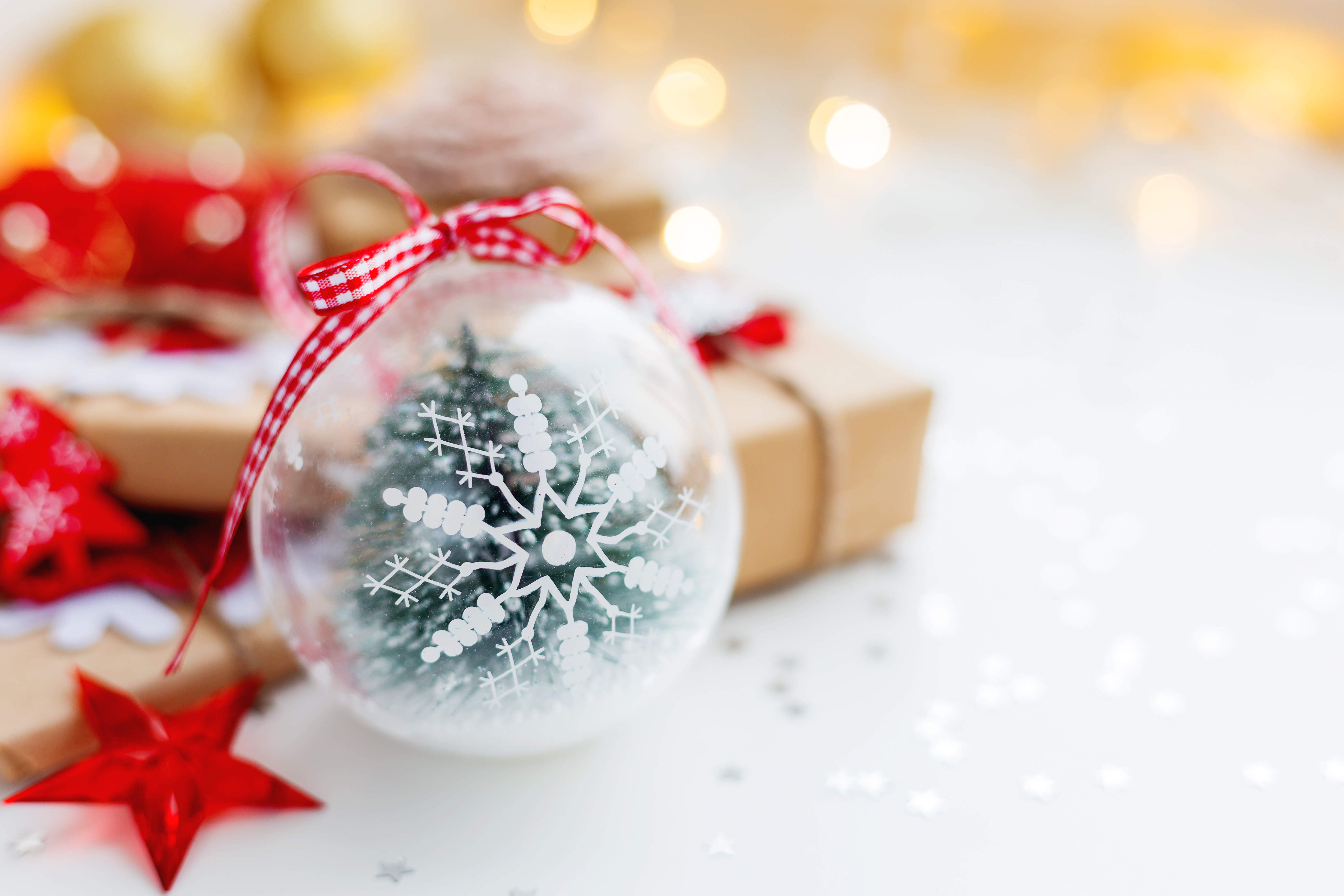 Boule De Noel Transparente A Decorer dedans boule de noël, 5 idées de décorations | blog la foir'fouille