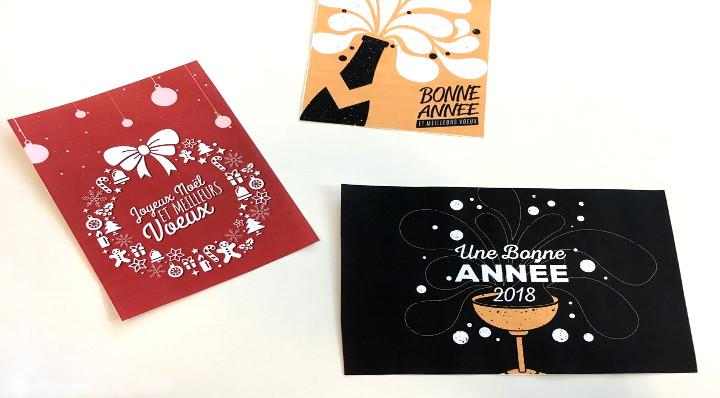 Téléchargez ces 4 cartes de vœux à imprimer pour les fêtes - On adore - Blog La Foir'Fouille