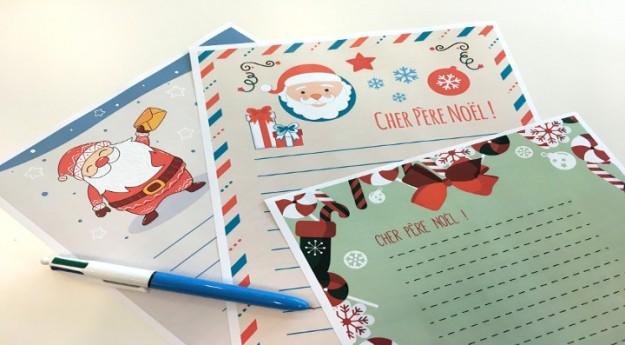 DIY : 3 modèles de lettre au Père Noël à imprimer