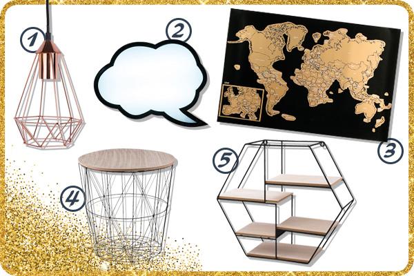 Conseils 25 id es de cadeaux d co pour no l blog la foirfouille - Idee de decoration de table pour noel ...