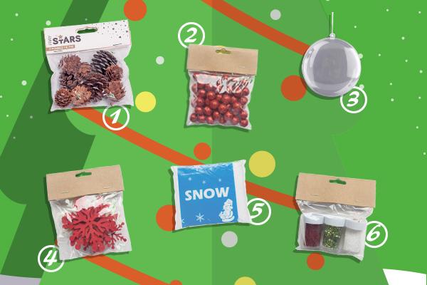 DIY - 5 façons de décorer une boule de Noël - Blog La Foir'Fouille