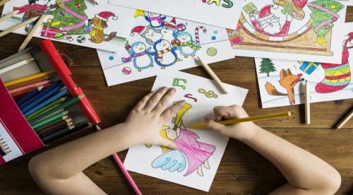 3 coloriages de Noël à imprimer - Blog La Foir'Fouille - DIY