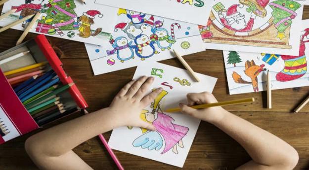 DIY : 3 coloriages de Noël à imprimer