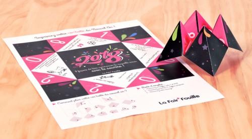DIY : La cocotte de Nouvel An à imprimer