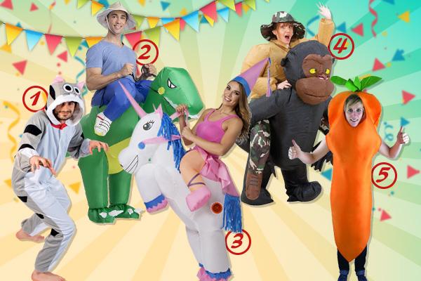 Pour le Carnaval, découvrez 5 idées de déguisements adultes insolites - Conseils - Blog La Foir'Fouille