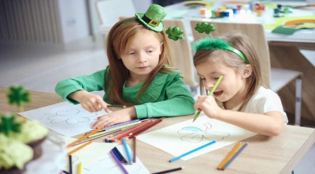 Blog La Foir'Fouille - DIY - 3 coloriages de la Saint-Patrick