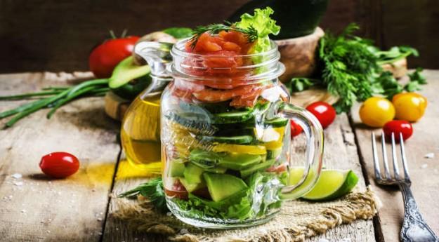 On adore: 4 recettes de salad jar