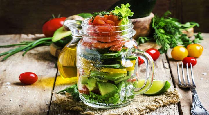 4 recettes de salad jar - On adore - Blog La Foir'Fouille