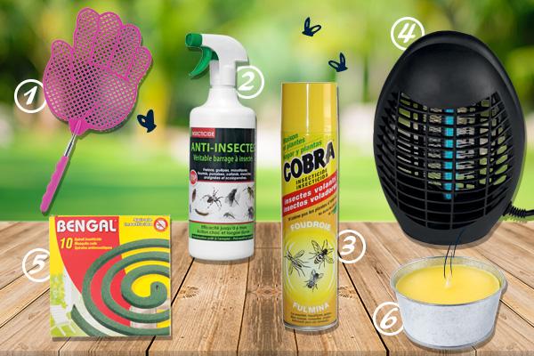 Blog La Foir'Fouille - Conseils - Comment se protéger des moustiques ?