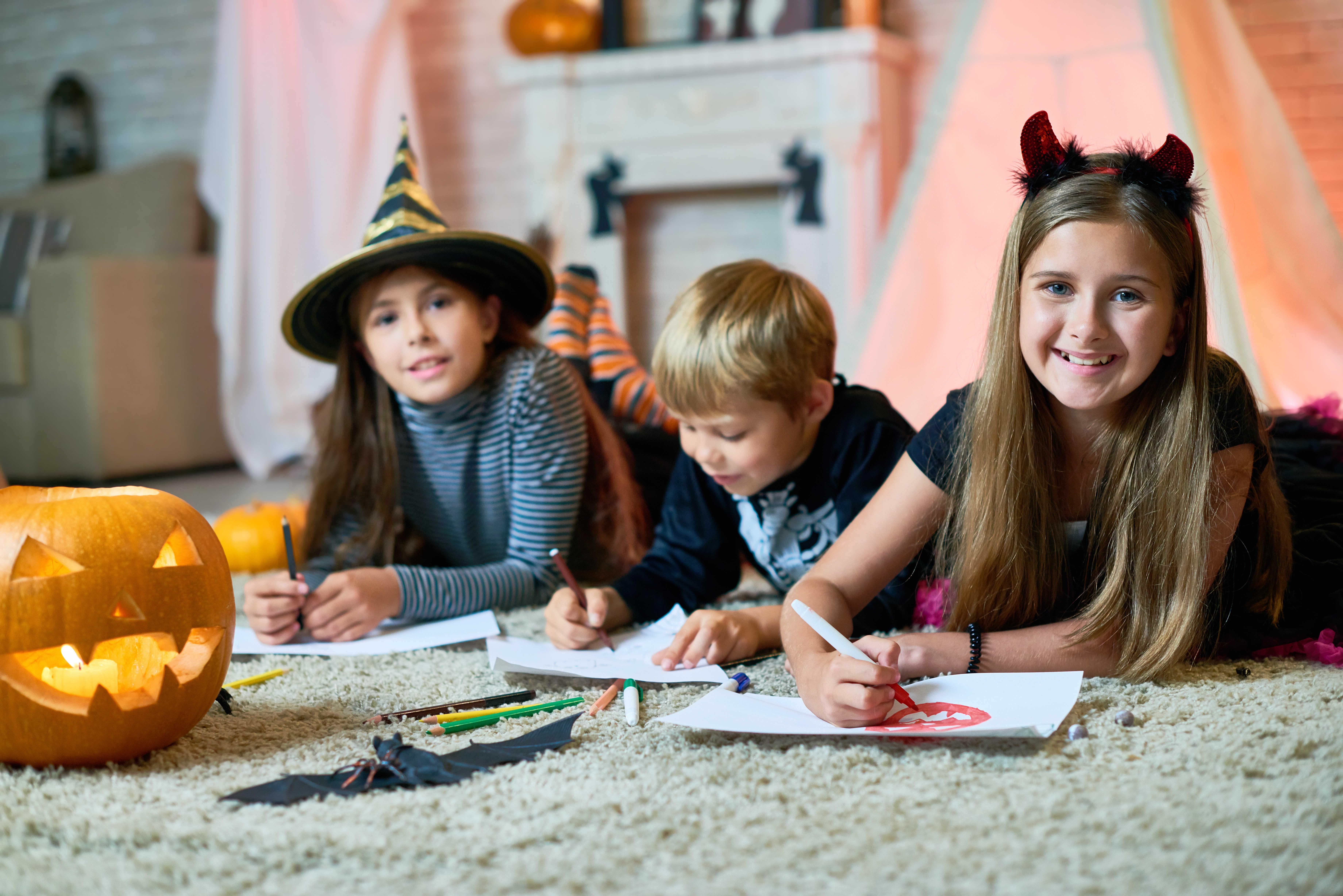 DIY - 4 coloriages d'Halloween à imprimer - Blog La Foir'Fouille