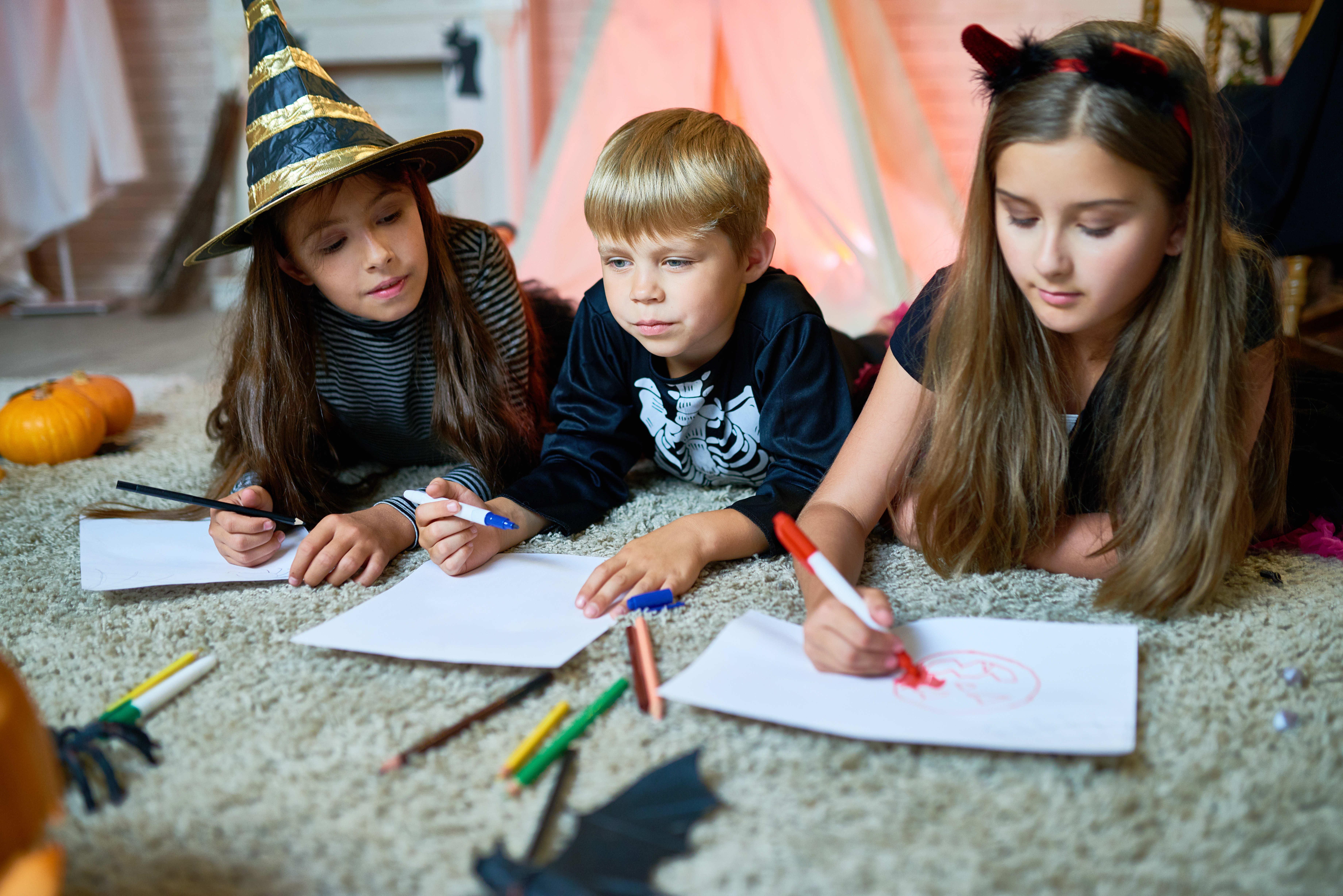 Blog La Foir'Fouille - On adore - 4 coloriages d'Halloween à imprimer