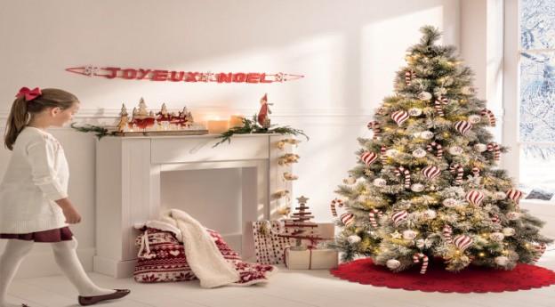 Style - Au coin du feu, une déco de Noël en rouge et blanc
