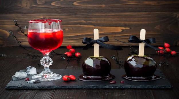 On adore: Préparer une boisson sanglante pour Halloween