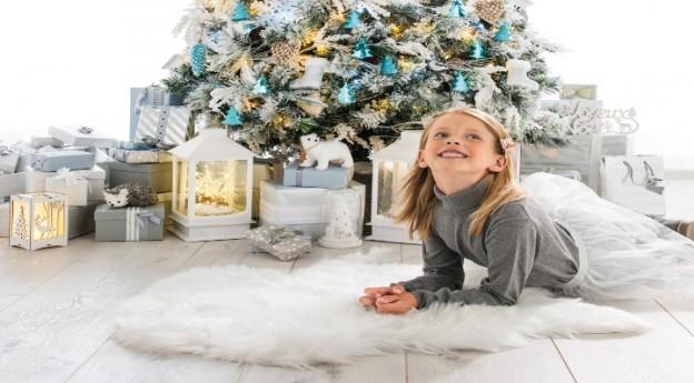Conseils : un matin polaire, ma déco de Noël en blanc et bleu