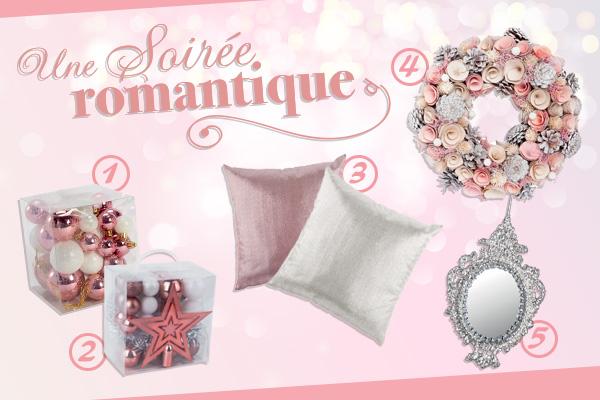 Style : une déco de Noël romantique en rose