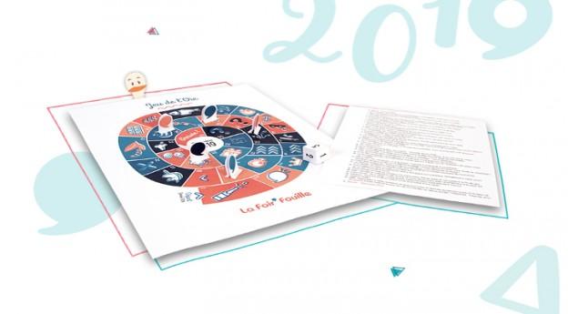 Le jeu de l'oie 2019 à imprimer - DIY - Blog La Foir'Fouille