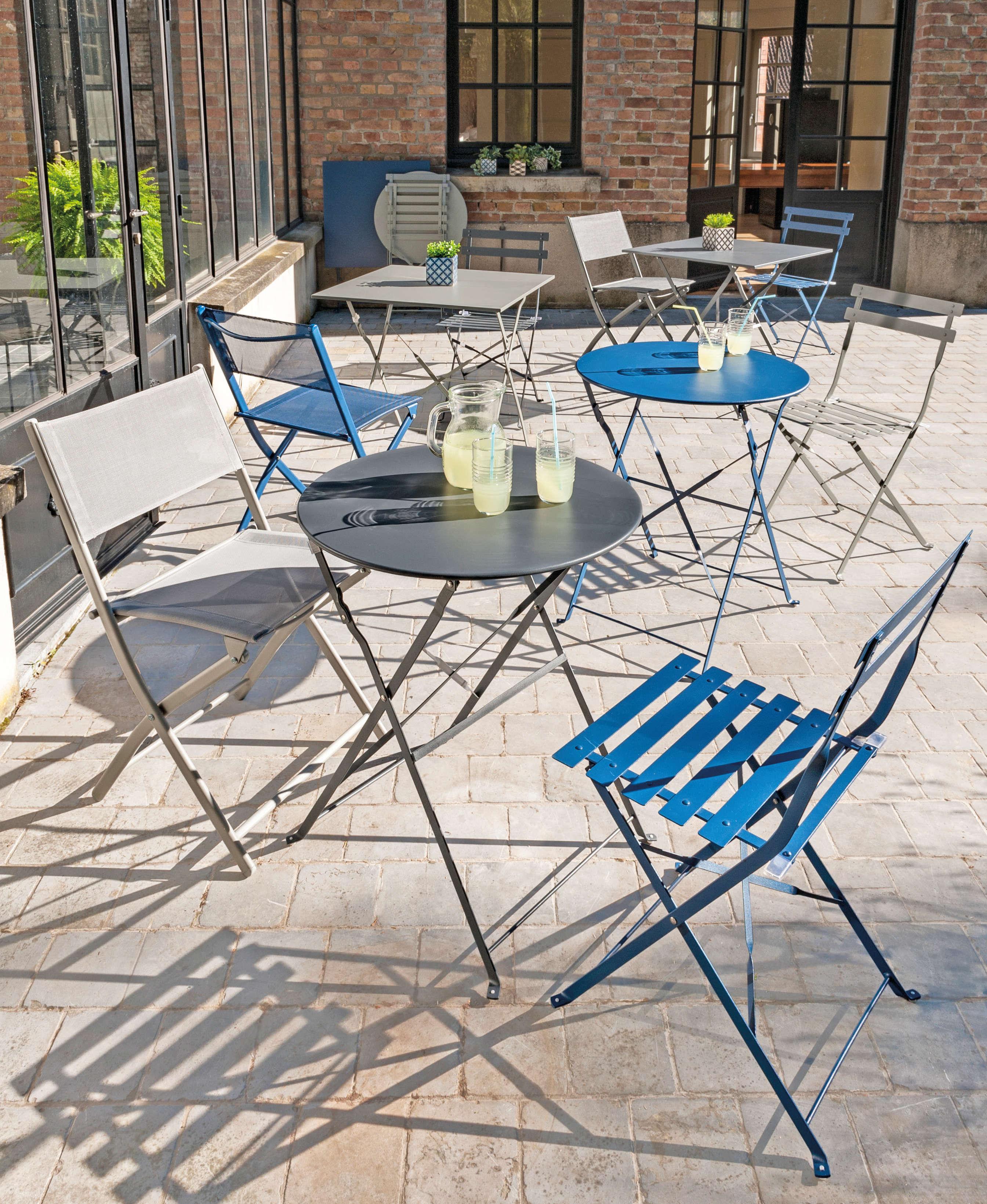 Salon De Jardin Carreau De Ciment style : le style industriel s'invite au jardin | blog la