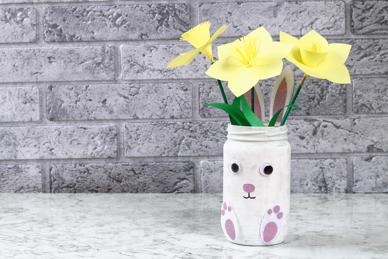 Blog La Foir'Fouille - DIY - Mon vase lapin de Pâques
