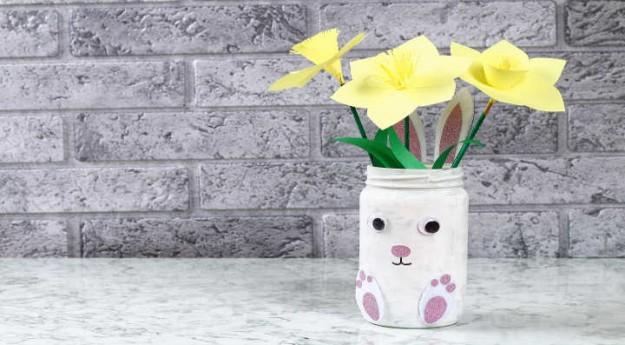 DIY : Comment créer un vase lapin de Pâques ?