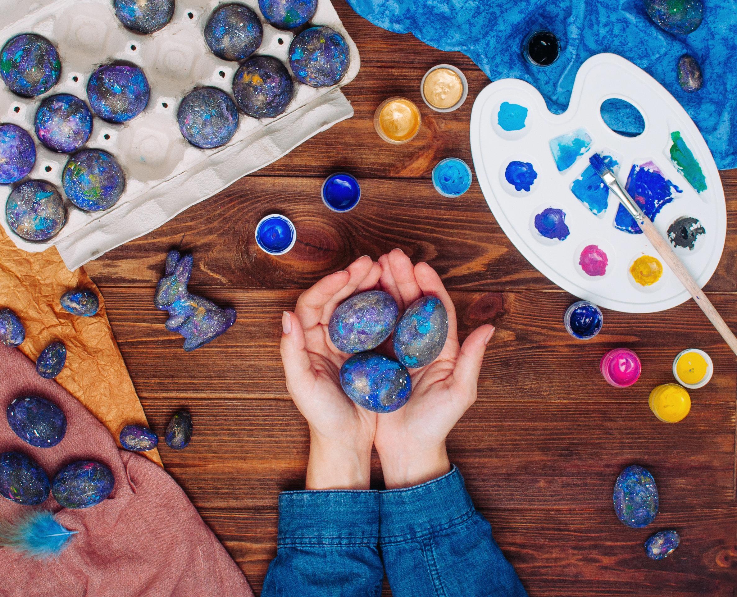 DIY - Blog La Foir'Fouille - 4 façons originales de décorer un œuf de Pâques
