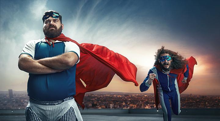 Super héros - On adore - Les meilleurs cadeaux à offrir à vos amis geeks !