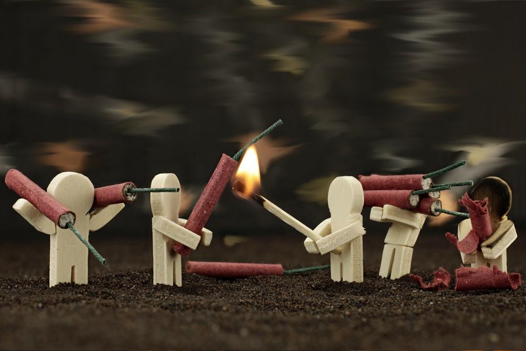Mariés - Conseils - Réussir un feu d'artifice domestique