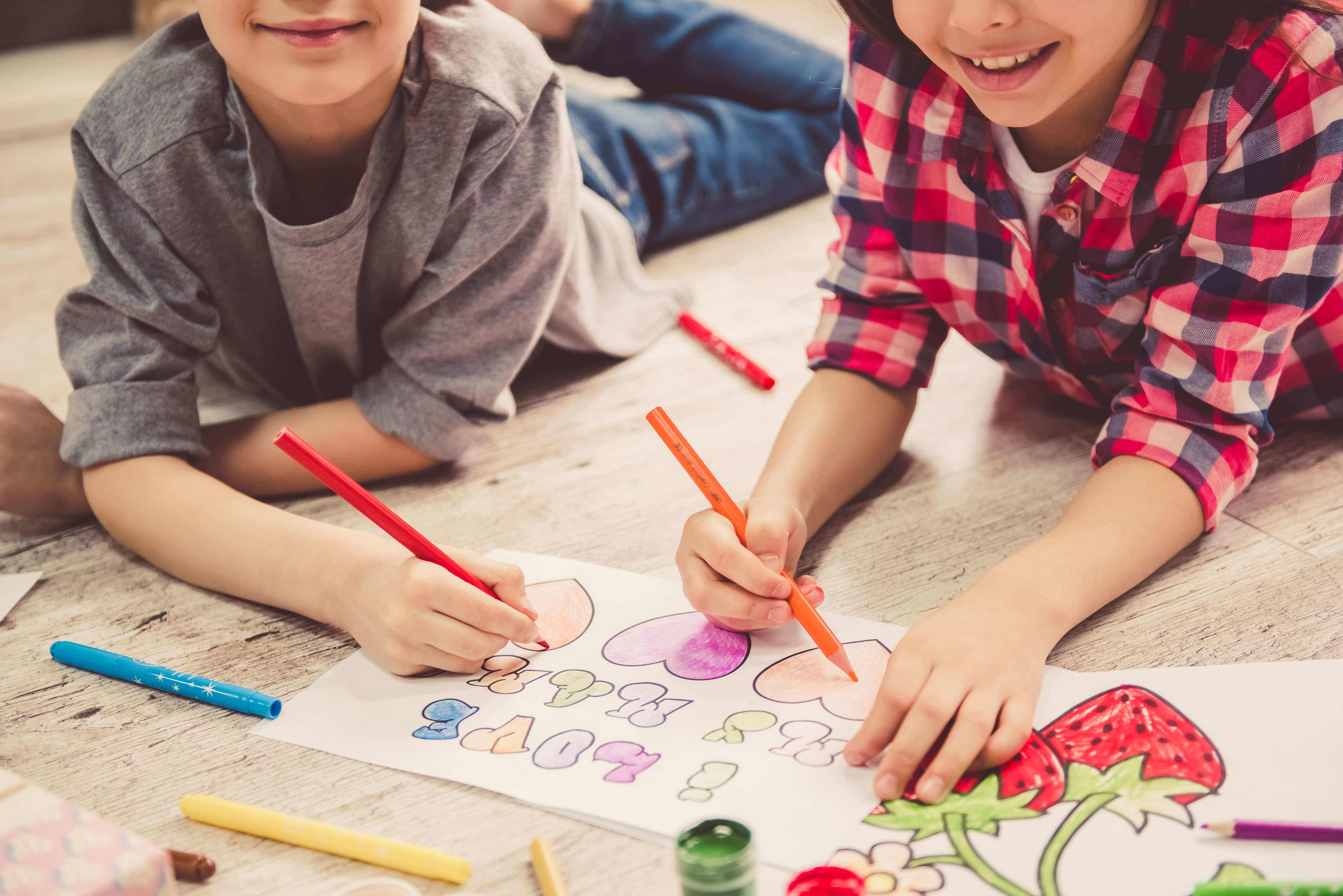 Sensibiliser les enfants à l'art par le coloriage - Conseils - Drawing