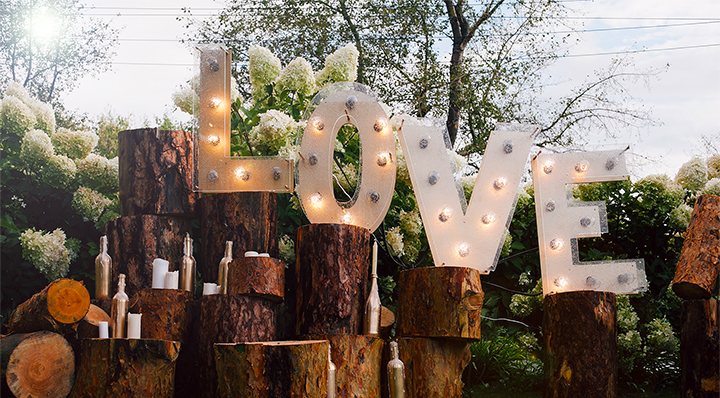 LOVE - On adore - Nos coups de coeur pour une décoration extérieure étonnante !