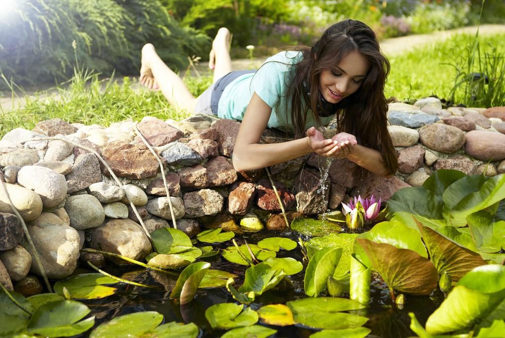 Conseils - Aménager sa mare de jardin - Est-ce potable ?
