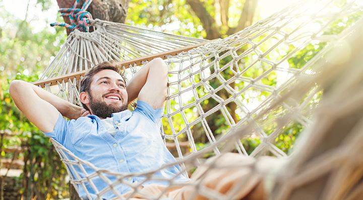 On adore - Bearded man - Les indispensables pour profiter de son jardin