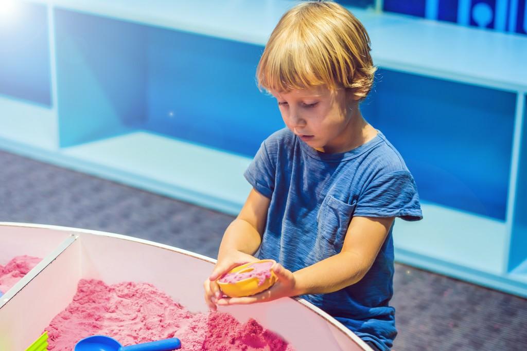 BOY - DIY - Du sable magique pour les enfants !