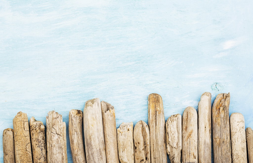 Palissade - DIY - Faire du bois flotté avec des branches fraîches