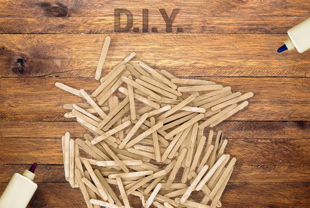 Bâtonnets - DIY - Trois accessoires déco à partir de bâtonnets à glace