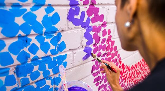 Abstrait - On adore - L'Art, ultime tendance déco