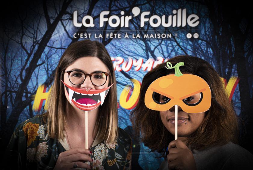 DIY - Blog La Foir'Fouille - Accessoires photobooth d'Halloween à imprimer