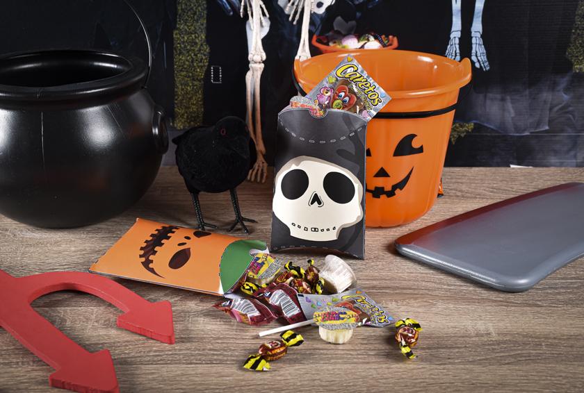 Boîtes à bonbons d'Halloween à imprimer - DIY - Blog La Foir'Fouille