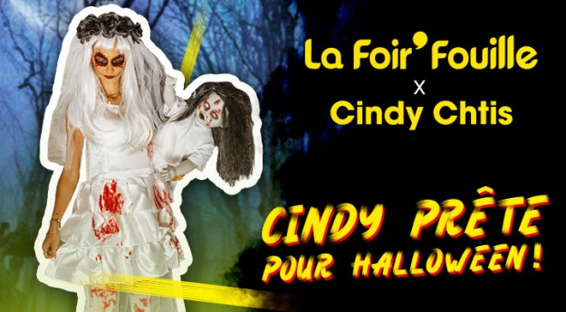 La Foir'Fouille x Cindy Ch'tis : Prête pour Halloween !