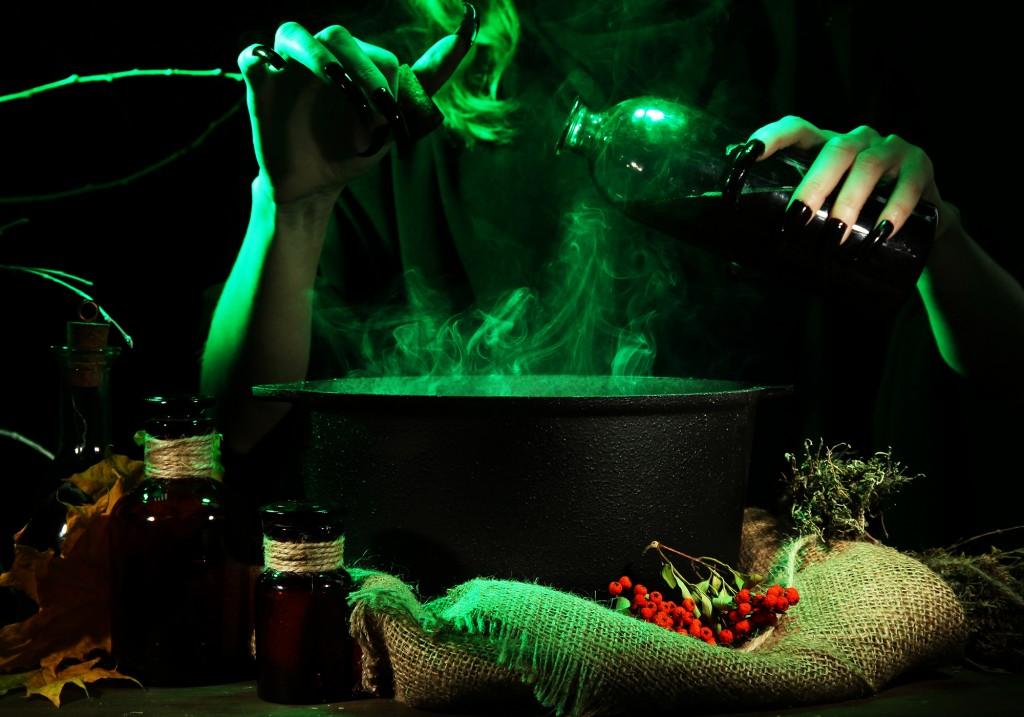 Cuisine - DIY - Préparer des potions de sorcière