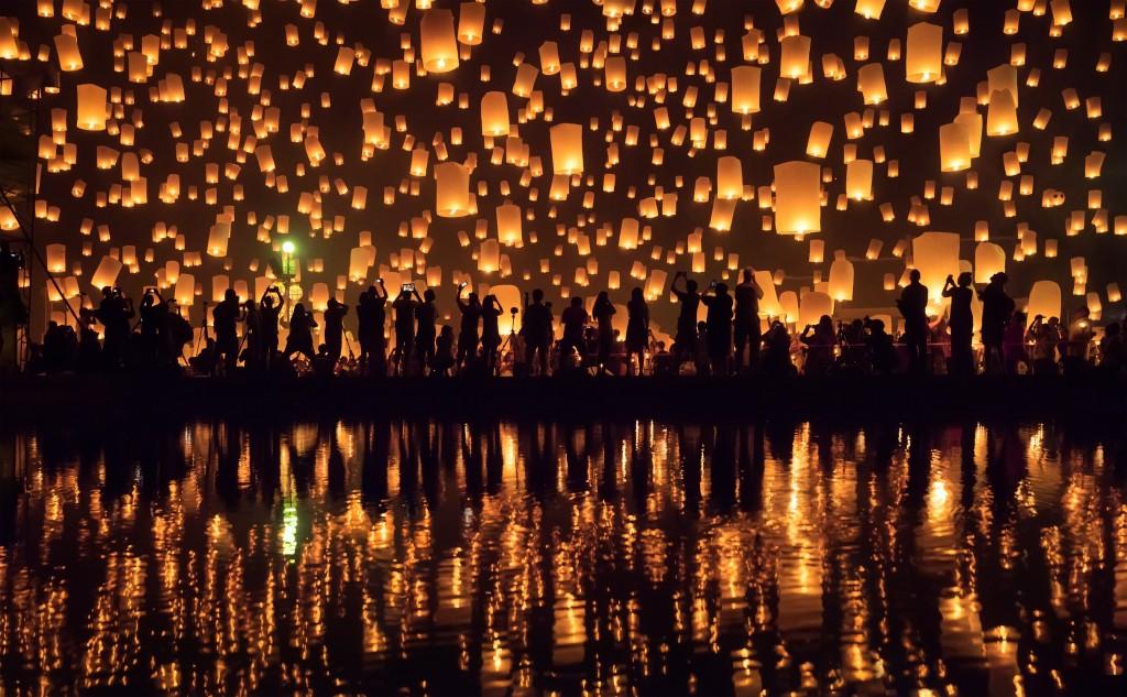 Lanternes festival - On adore - La Fête des Lumières à la maison Foir'Fouille
