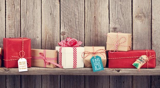 DIY: 30 étiquettes de Noël à imprimer