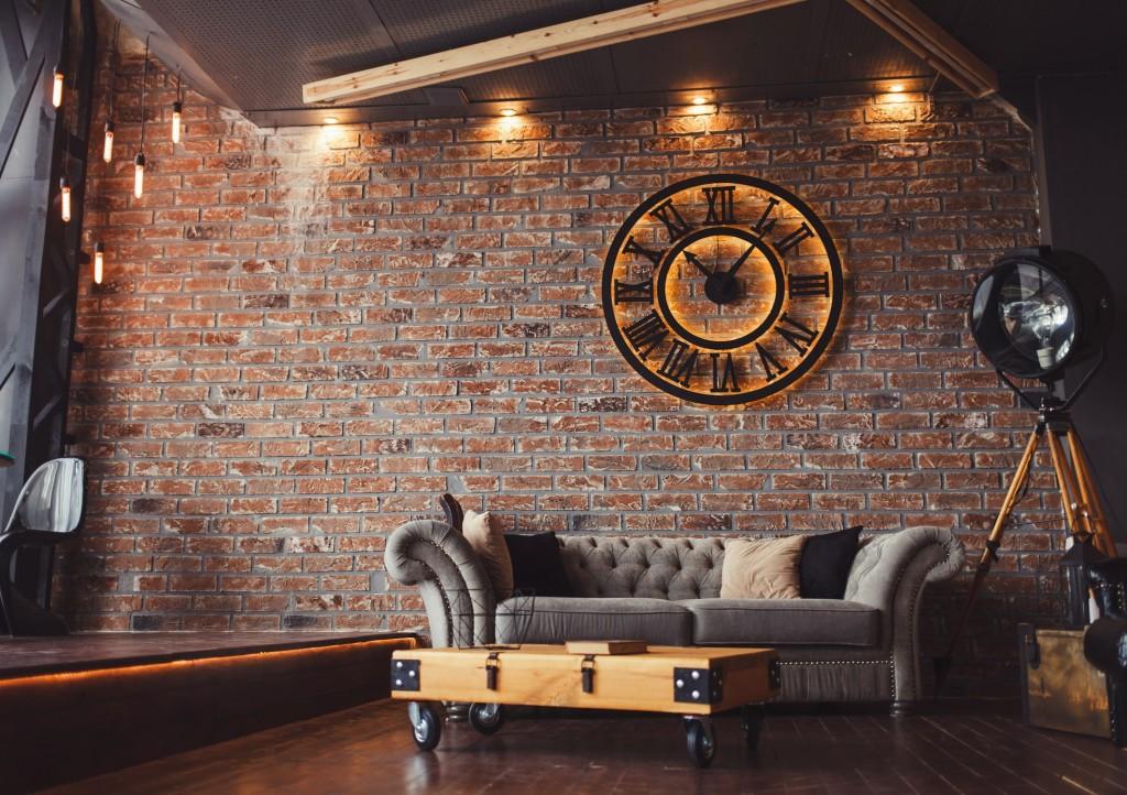 Style industriel - Conseils - 4 façons d'utiliser la brique en intérieur - Blog Foir'Fouille