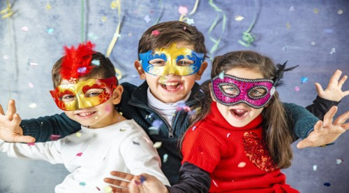 DIY - Blog La Foir'Fouille - Masques de Carnaval à imprimer et à colorier