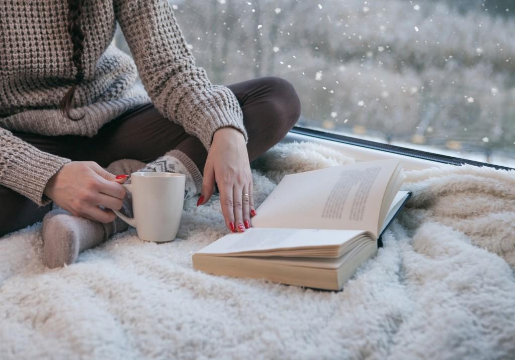 Lire sur plaid - On adore - En hommage à la lecture !