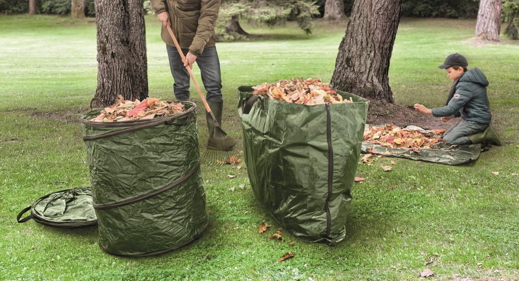 120 litres - on adore - ces outils de jardinage pratiques auxquels on ne pense pas forcement - sac pop up