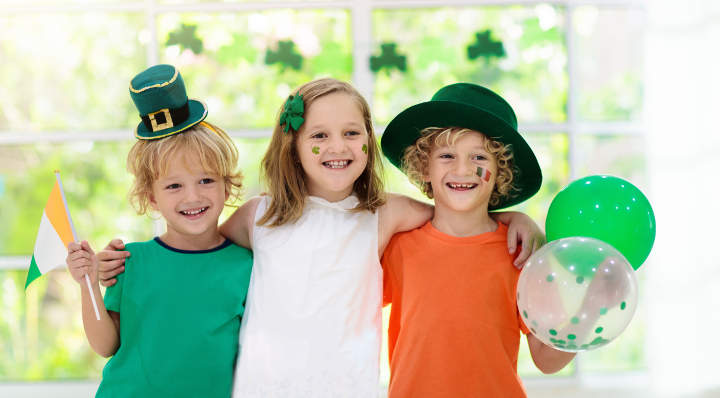 Blog La Foir'Fouille - DIY - 2 leprechauns à colorier