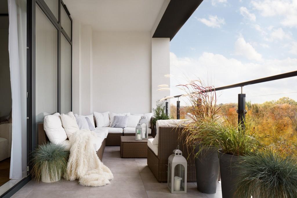 balcon mi-saison - Conseils - Comment aménager un balcon