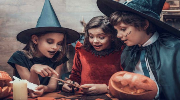 3 masques d'Halloween à imprimer - DIY - Blog La Foir'Fouille